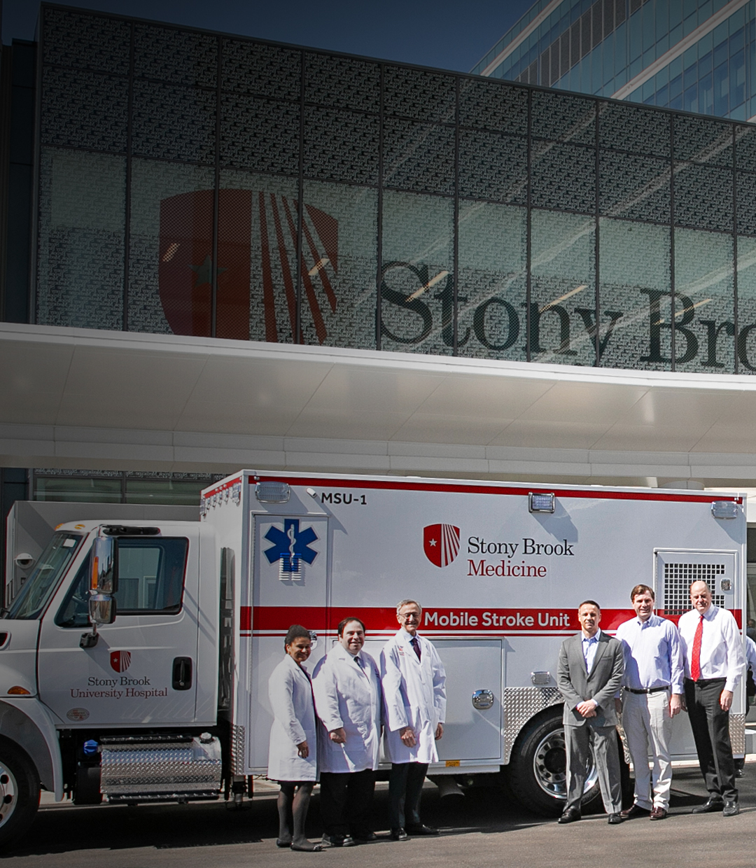 LONG ISLAND'S FIRST MOBILE STROKE UNITS